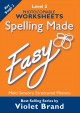 Spelling Made Easy – Level 2 Worksheets